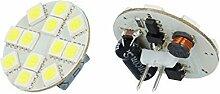 2x G4 2,5W 160 lm LED Lampe 6000K Kaltweiß 12