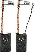 2x Kohlebürsten für Würth BMH 45-SE, BMH 40-XE,