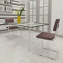 2x Küchenstuhl Esszimmerstühle Kunstleder