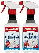 2x Mellerud Bad und Sanitär Kraftreiniger (500ml)