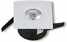 2x Mini 3W LED Warmweiß Spot Einbaustrahler