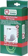 2x Pollenschutzvlies 150x180 Weiss Fenster Insektenschutz