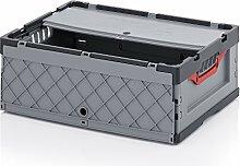2x Profi-Faltbox mit Deckel Auer Packaging, FBD