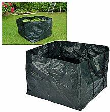 2x Stück Gartentasche für Laub oder Rasenschnitt Fassungsvermögen jeweils 240 Liter