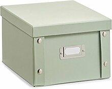2x Zeller DVD BOX mit Deckel Jade für 26
