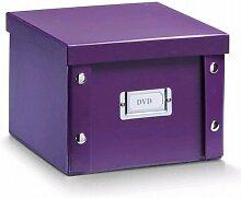 2x ZELLER DVD BOX mit DECKEL lila für 26