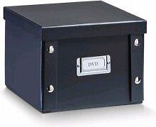2x ZELLER DVD BOX mit DECKEL schwarz für 26