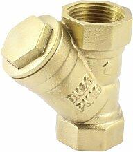 3/10,2cm PT Innengewinde Y Type Sanitär Messing Filter für, Wasser Rohr