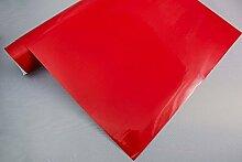3,4€/m² Plotterfolie 13 - ROT - 200 x 106 cm Plotter Folie Deko Folie Klebefolie Dekofolie Möbel Folie