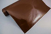 3,4€/m² Plotterfolie 5 - BRAUN - 100 x 106 cm Plotter Folie Deko Folie Klebefolie Dekofolie Möbel Folie