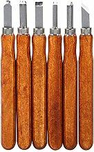 3/6/9Pcs Meißel, Handmade Holzstich Werkzeuge