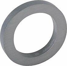 3-D Hausnummer (0) Aluminium massiv 10cm Haustür