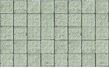 3-D-Wandtapete Brooklyn Tins 1000 cm x 48,7 cm