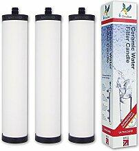 3 Doulton Ultracarb M15 Wasserfilter-Kartuschen