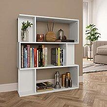 3 Etagen Bücherregal, Holz Bücherregal, Offenes