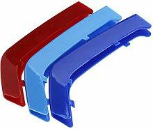 3-Farbe Kühlergrill Grill Streifen Stripe