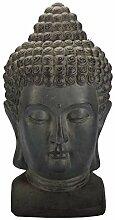 3 Farben Buddha KOPF Figur Dekoration
