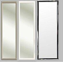 3 Farben Türspiegel Tür Spiegel Hängespiegel Rahmenspiegel 35x95cm schwarz weiss (silber)