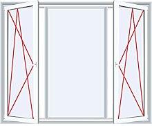3-flügliges Kunststofffenster Fenster