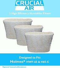 3Holmes hwf-65& h65-c Luftbefeuchter Wick Filter, passt Holmes hwf-65& h65-c, entworfen und hergestellt von Crucial Air