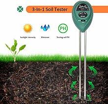 3-in-1 Bodentester Feuchtigkeit Meter Digitales