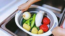 3-in-1 Mehrzweck-Küchengerät, faltbares