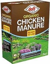 3kg Doff Organic Dünger Chicken Manure