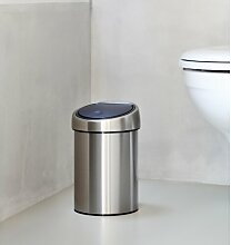 3 L Mülleimer mit Soft-Touch-Verschluss Brabantia