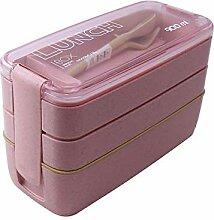 3-lagige Lunchbox Umweltfreundliche Lunchbox
