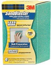 3 M Sandblaster Schleifschwamm, fein, Trockenbau