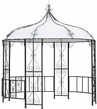 3 m x 3 m Pavillon Burma aus Metall