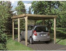 3 m x 5 m Carport Weka Mit Dachplatten: Ja