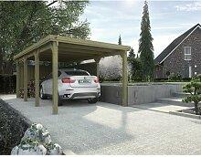 3 m x 6 m Carport Weka Mit Dachplatten: Ja