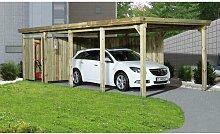 3 m x 8 m Carport Weka Mit Dachplatten: Nein