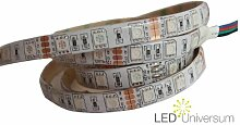 3 Meter RGB LED Strip Stripe Streifen Leiste Band 60LED/m (3m, IP65) - Anschluss 4 pol Stecker