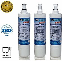 3 Pack Whirlpool 4396510 Compatible Water Filter Refrigerator RFC0500A