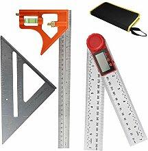 3 Packungen Messwerkzeug-Set, 30,5 cm