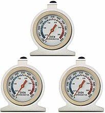 3 Pcs Backofenthermometer,Bainuojia