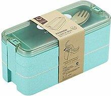 3 Schichten Bento Box, Lunchbox Kinder, Lunch Box
