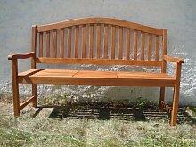 3-Sitzer Gartenbank, Bank mit ausklappbarem Tisch,