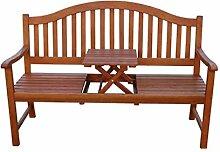 3-Sitzer Gartenbank mit Tisch Sitzbank Bank