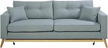 3-Sitzer-Schlafsofa im skandinavischen Stil,