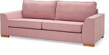 3-Sitzer Sofa Butterfly, rosa