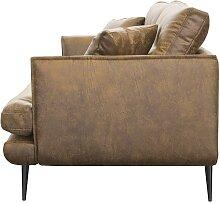 3-Sitzer-Sofa GANESH - Microfaser -