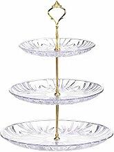3-Stöckig Etagere Obstteller Gebäckschale