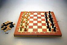 3Stück–Coffret Holz-Spiele von Spielsteinen 34cm–Qualität coolminiprix®