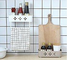 3 Stück Küche Badezimmer Organizer Wandregal
