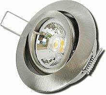 3 Stück MCOB LED Einbaustrahler Laura 12 Volt 3