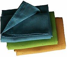 3 Stück Microfaser Geschirrtücher Größe 68 x