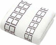 3 Teile/Los Baumwolle Handtuch Set Mit 2 Gesicht